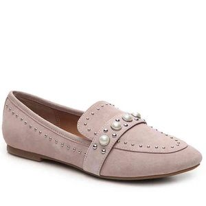 STEVE MADDEN PERLYN LOAFER Pink Pearl Flats 8